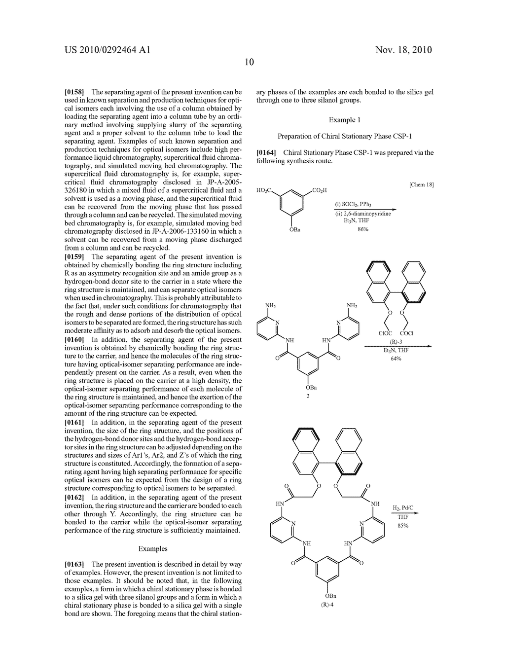 OPTICAL-ISOMER SEPARATING AGENT FOR CHROMATOGRAPHY AND PROCESS FOR PRODUCING THE SAME - diagram, schematic, and image 54
