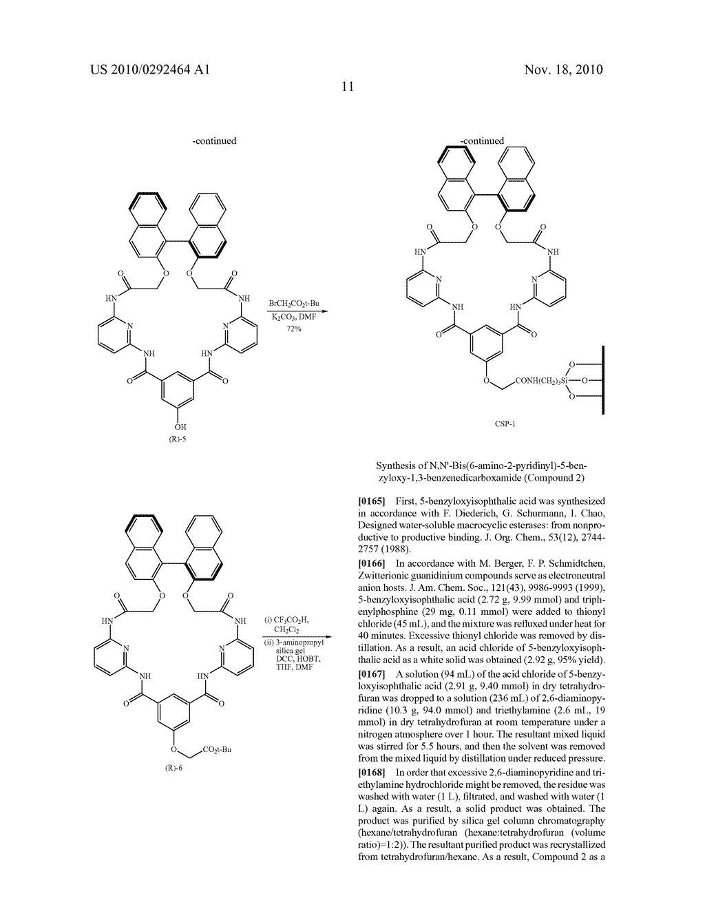 OPTICAL-ISOMER SEPARATING AGENT FOR CHROMATOGRAPHY AND PROCESS FOR PRODUCING THE SAME - diagram, schematic, and image 55