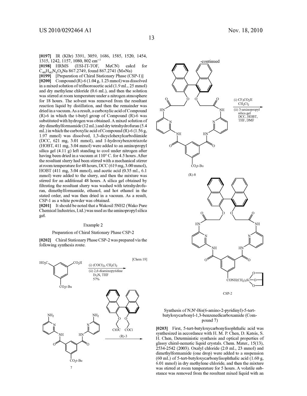OPTICAL-ISOMER SEPARATING AGENT FOR CHROMATOGRAPHY AND PROCESS FOR PRODUCING THE SAME - diagram, schematic, and image 57