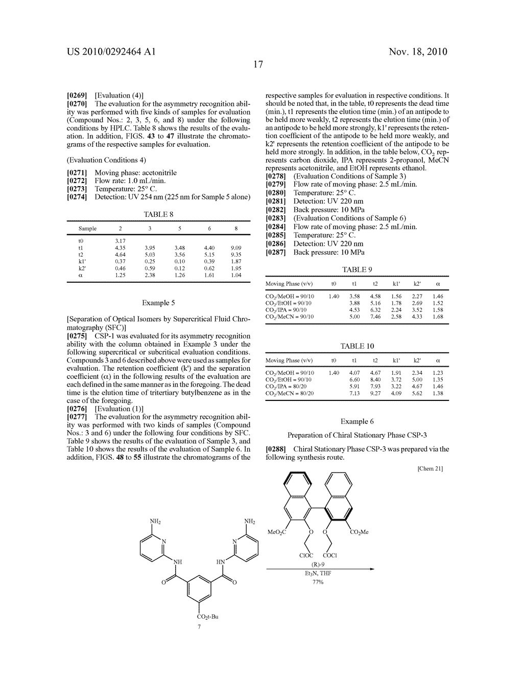 OPTICAL-ISOMER SEPARATING AGENT FOR CHROMATOGRAPHY AND PROCESS FOR PRODUCING THE SAME - diagram, schematic, and image 61