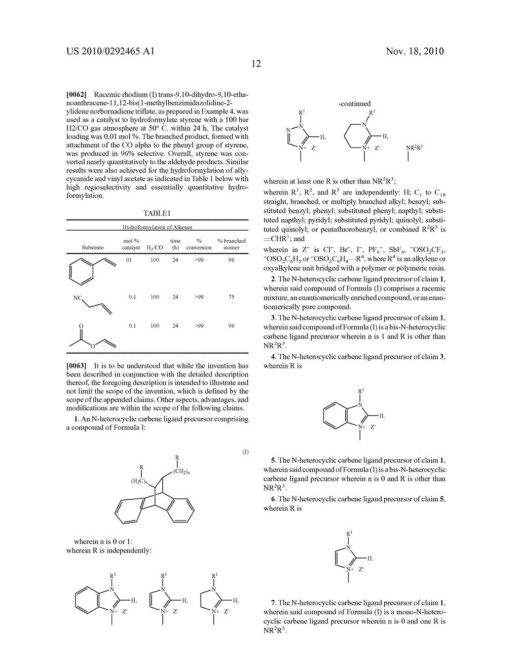 CATALYSTS CONTAINING N-HETEROCYCLIC CARBENES FOR ENANTIOSELECTIVE SYNTHESIS - diagram, schematic, and image 17