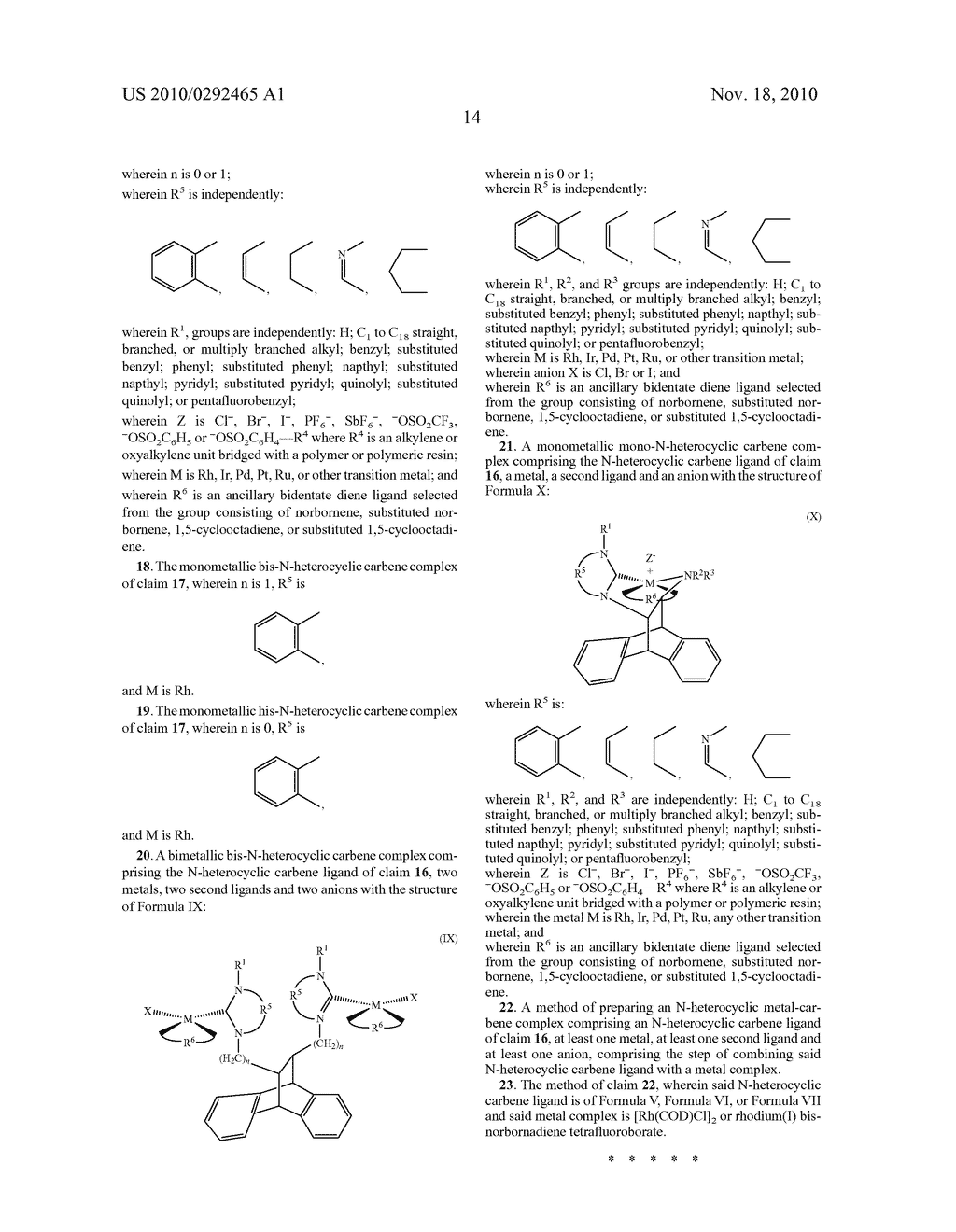 CATALYSTS CONTAINING N-HETEROCYCLIC CARBENES FOR ENANTIOSELECTIVE SYNTHESIS - diagram, schematic, and image 19