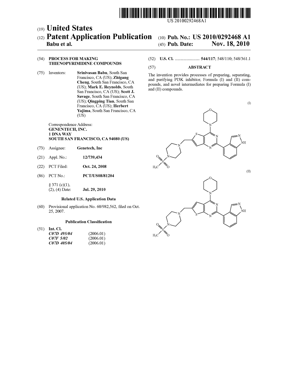 PROCESS FOR MAKING THIENOPYRIMIDINE COMPOUNDS - diagram, schematic, and image 01