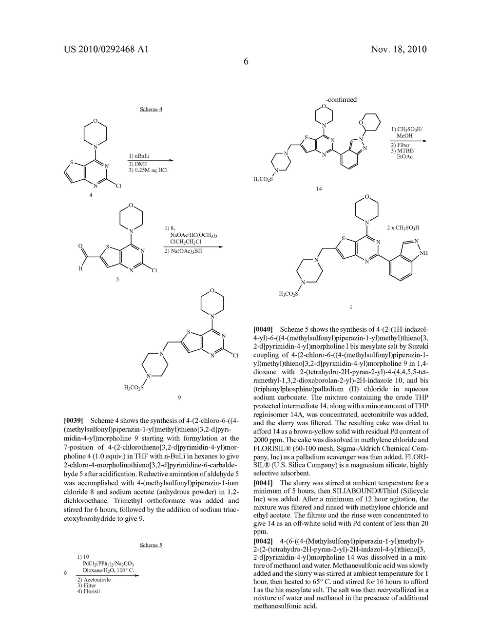 PROCESS FOR MAKING THIENOPYRIMIDINE COMPOUNDS - diagram, schematic, and image 07