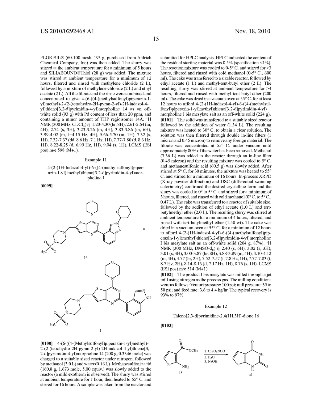PROCESS FOR MAKING THIENOPYRIMIDINE COMPOUNDS - diagram, schematic, and image 16