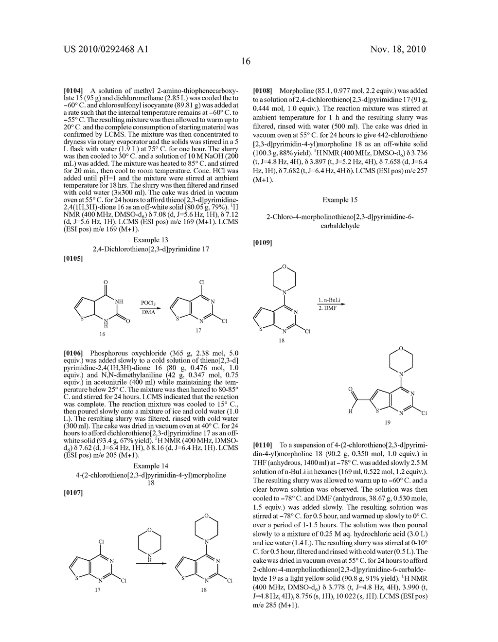 PROCESS FOR MAKING THIENOPYRIMIDINE COMPOUNDS - diagram, schematic, and image 17