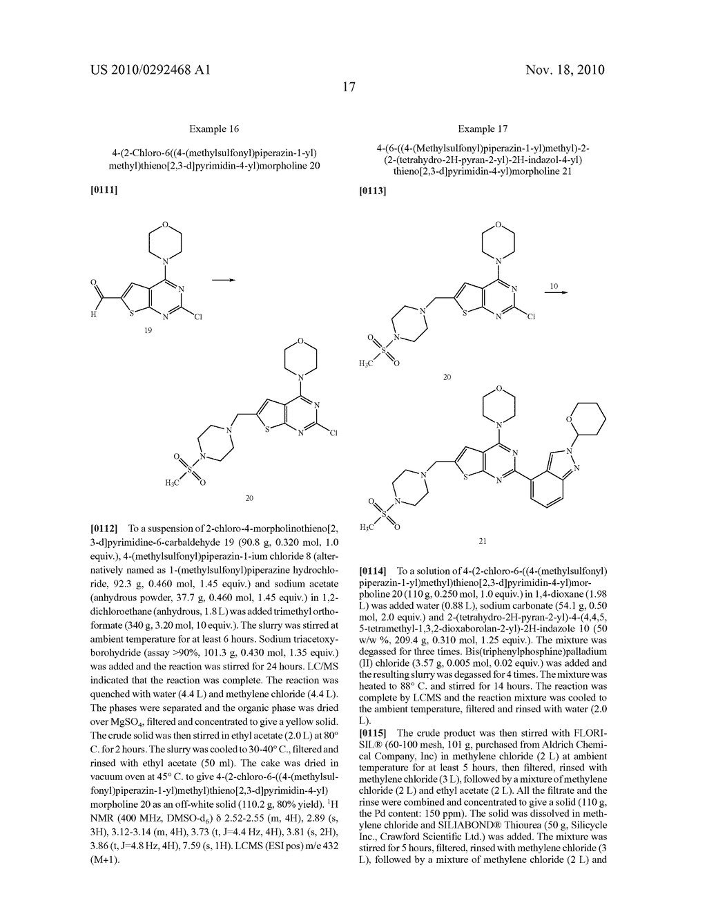 PROCESS FOR MAKING THIENOPYRIMIDINE COMPOUNDS - diagram, schematic, and image 18