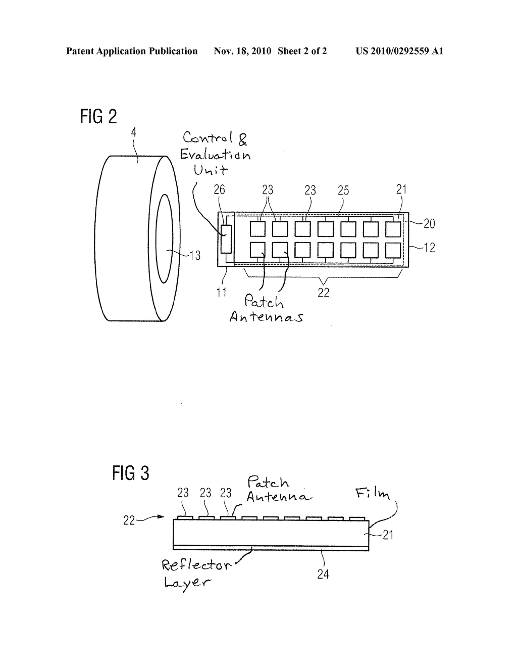 RADAR-EQUIPPED PATIENT BED FOR A MEDICAL IMAGING APPARATUS, AND OPERATING METHOD THEREFOR - diagram, schematic, and image 03