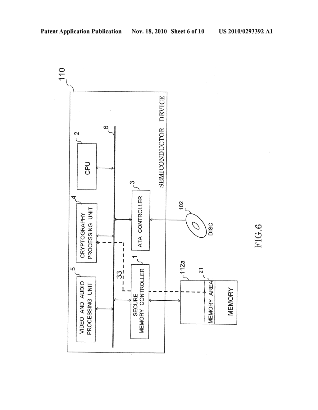 SEMICONDUCTOR DEVICE HAVING SECURE MEMORY CONTROLLER - diagram, schematic, and image 07