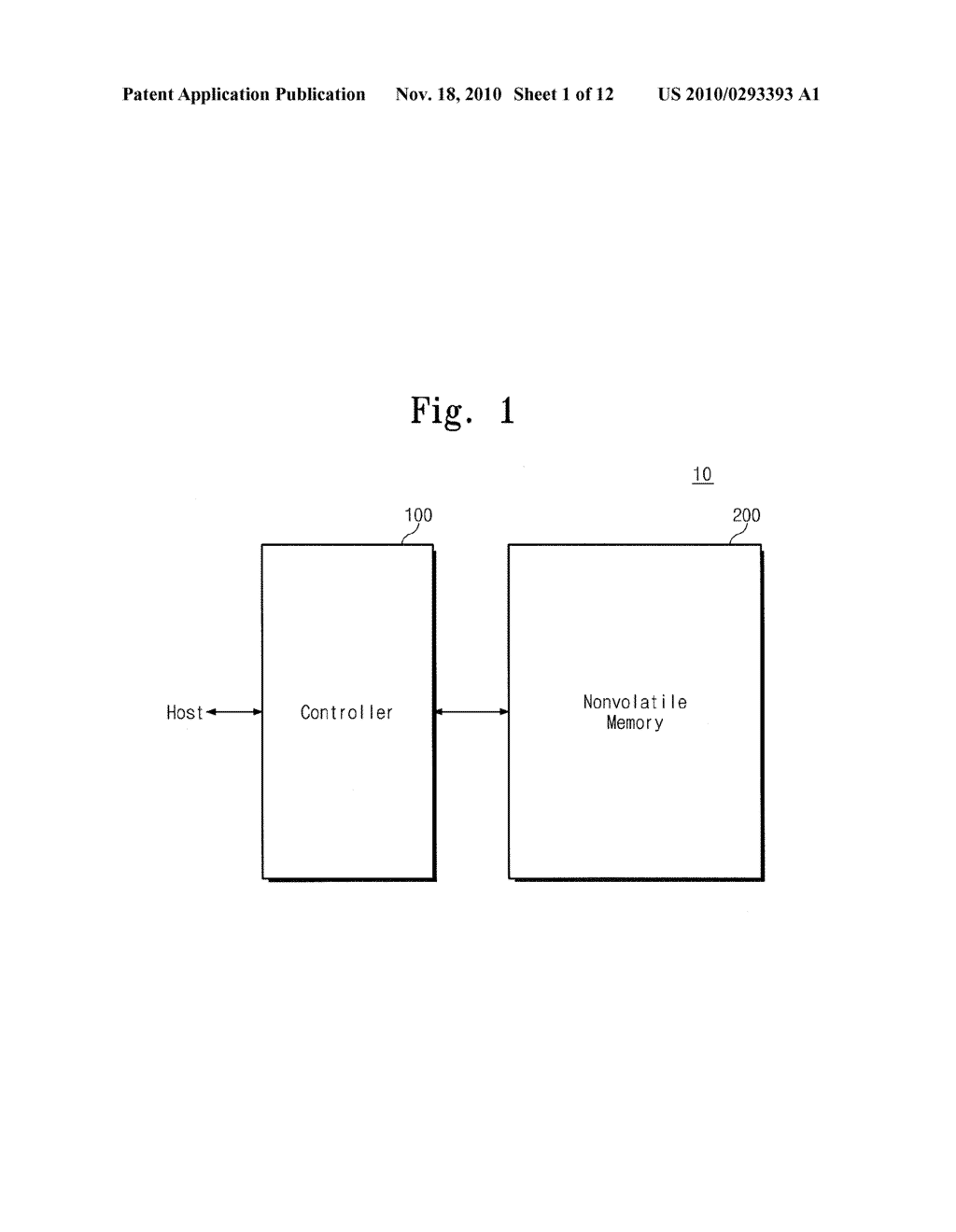 Memory Controller, Memory System Including the Same, and Method for Operating the Same - diagram, schematic, and image 02