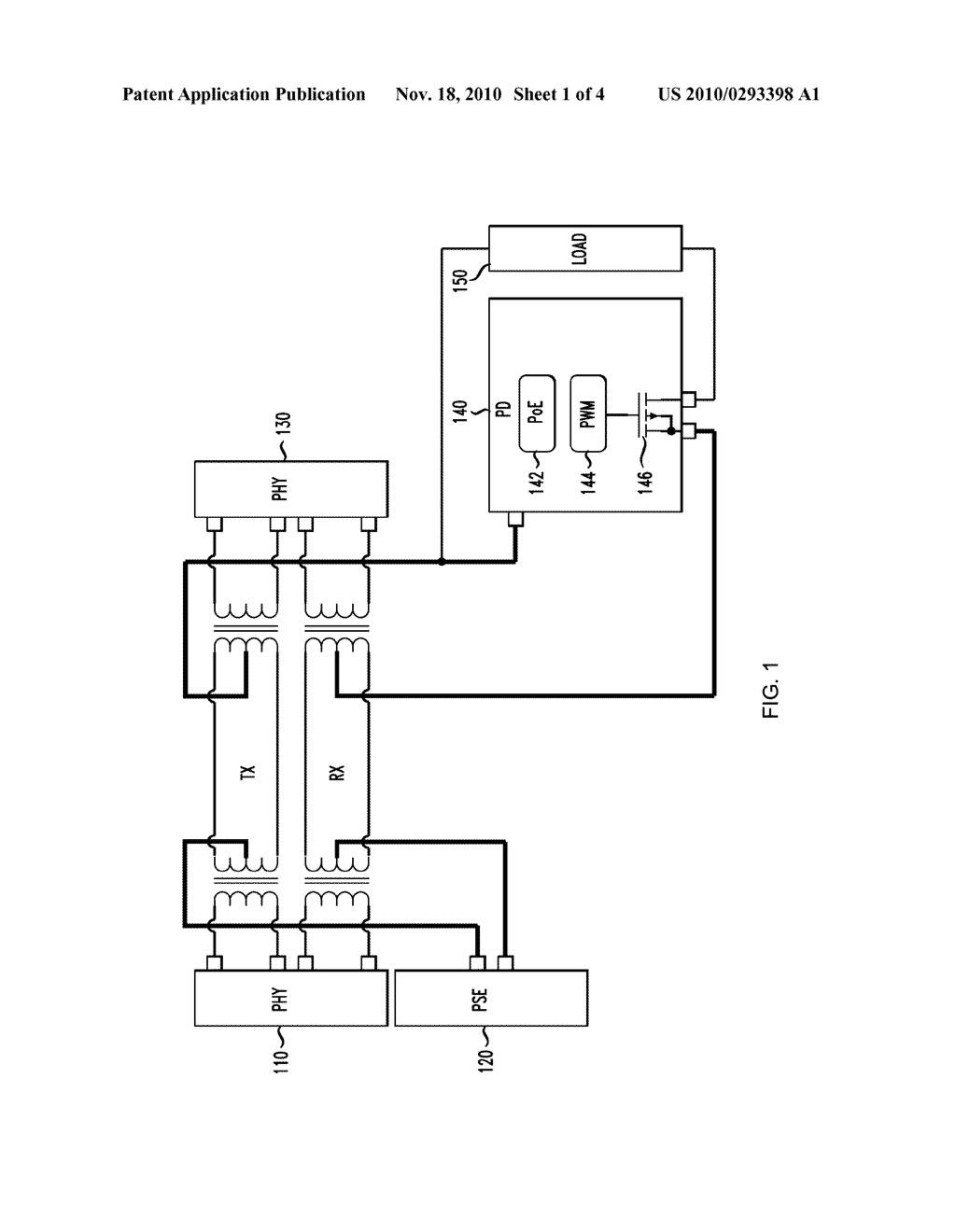 System and Method for Preventing Disconnect of a Powered Device by a Power Source Equipment - diagram, schematic, and image 02