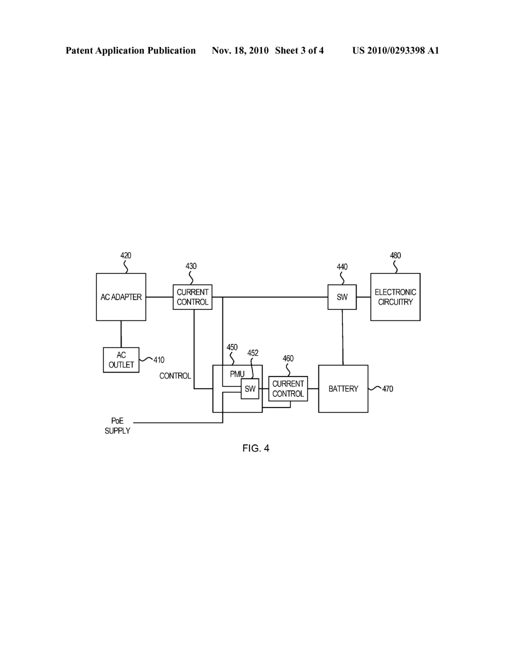 System and Method for Preventing Disconnect of a Powered Device by a Power Source Equipment - diagram, schematic, and image 04