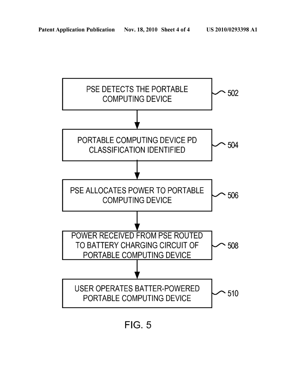 System and Method for Preventing Disconnect of a Powered Device by a Power Source Equipment - diagram, schematic, and image 05