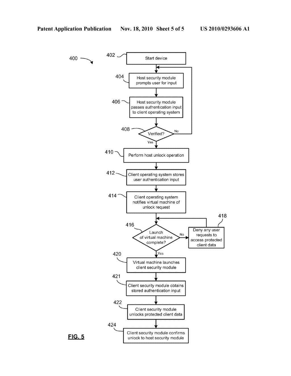 METHOD AND SYSTEM FOR MANAGING DELAYED USER AUTHENTICATION - diagram, schematic, and image 06