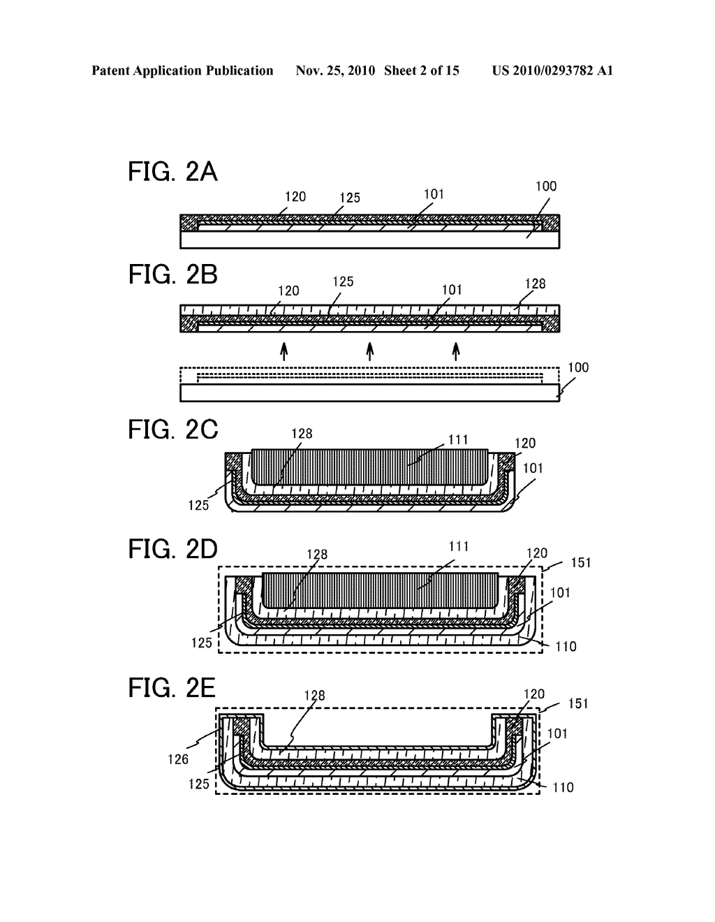 METHOD FOR MANUFACTURING LIGHT-EMITTING DEVICE - diagram, schematic, and image 03