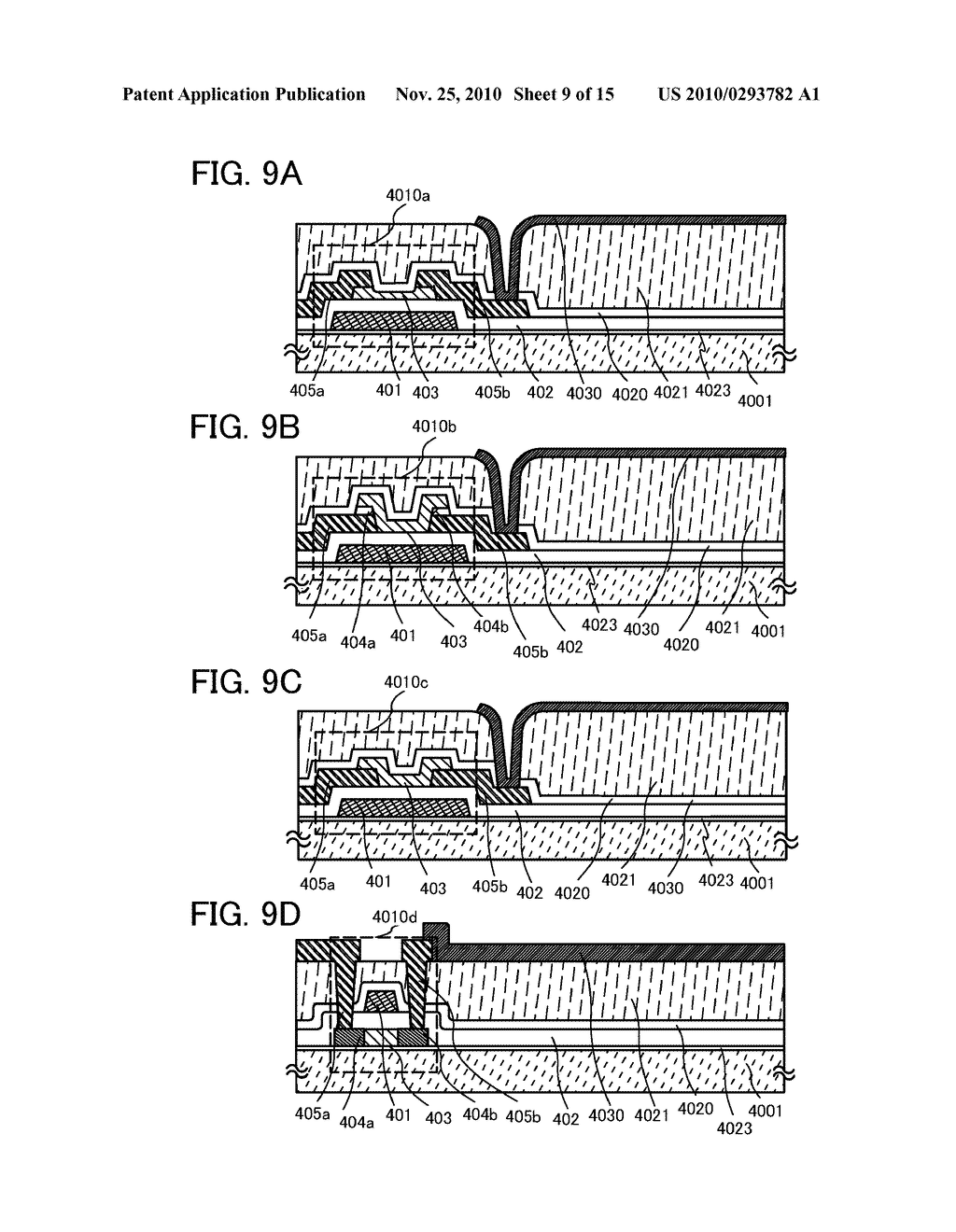 METHOD FOR MANUFACTURING LIGHT-EMITTING DEVICE - diagram, schematic, and image 10