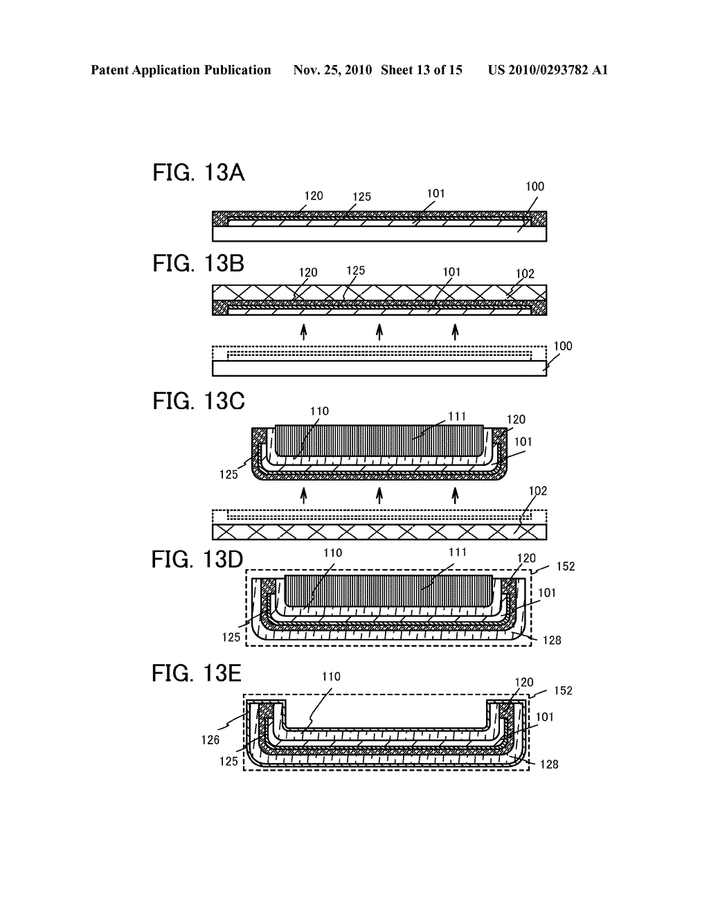 METHOD FOR MANUFACTURING LIGHT-EMITTING DEVICE - diagram, schematic, and image 14