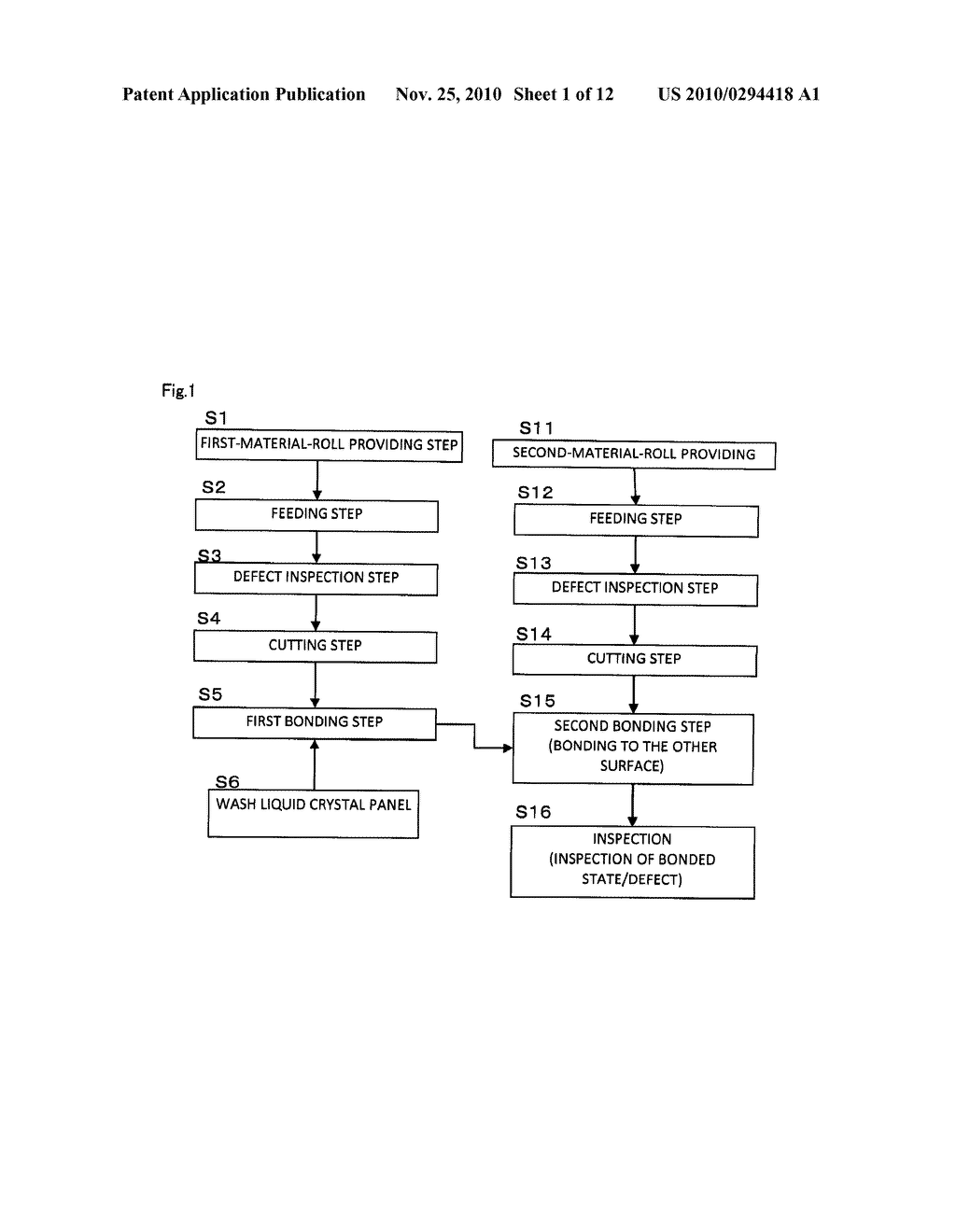 METHOD OF MANUFACTURING OPTICAL DISPLAY UNIT AND MANUFACTURING SYSTEM OF OPTICAL DISPLAY UNIT - diagram, schematic, and image 02