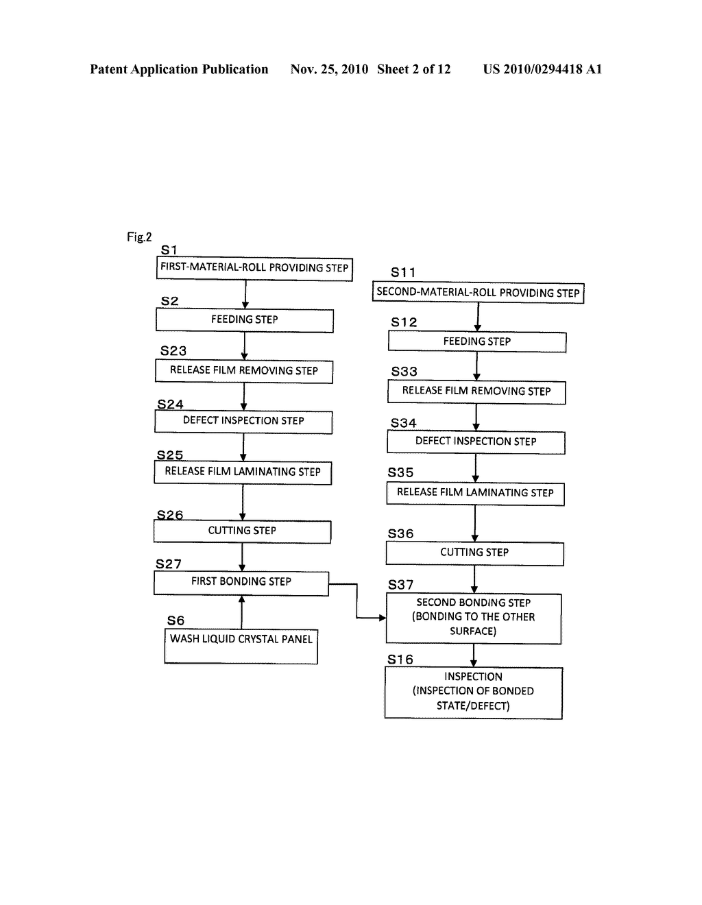 METHOD OF MANUFACTURING OPTICAL DISPLAY UNIT AND MANUFACTURING SYSTEM OF OPTICAL DISPLAY UNIT - diagram, schematic, and image 03