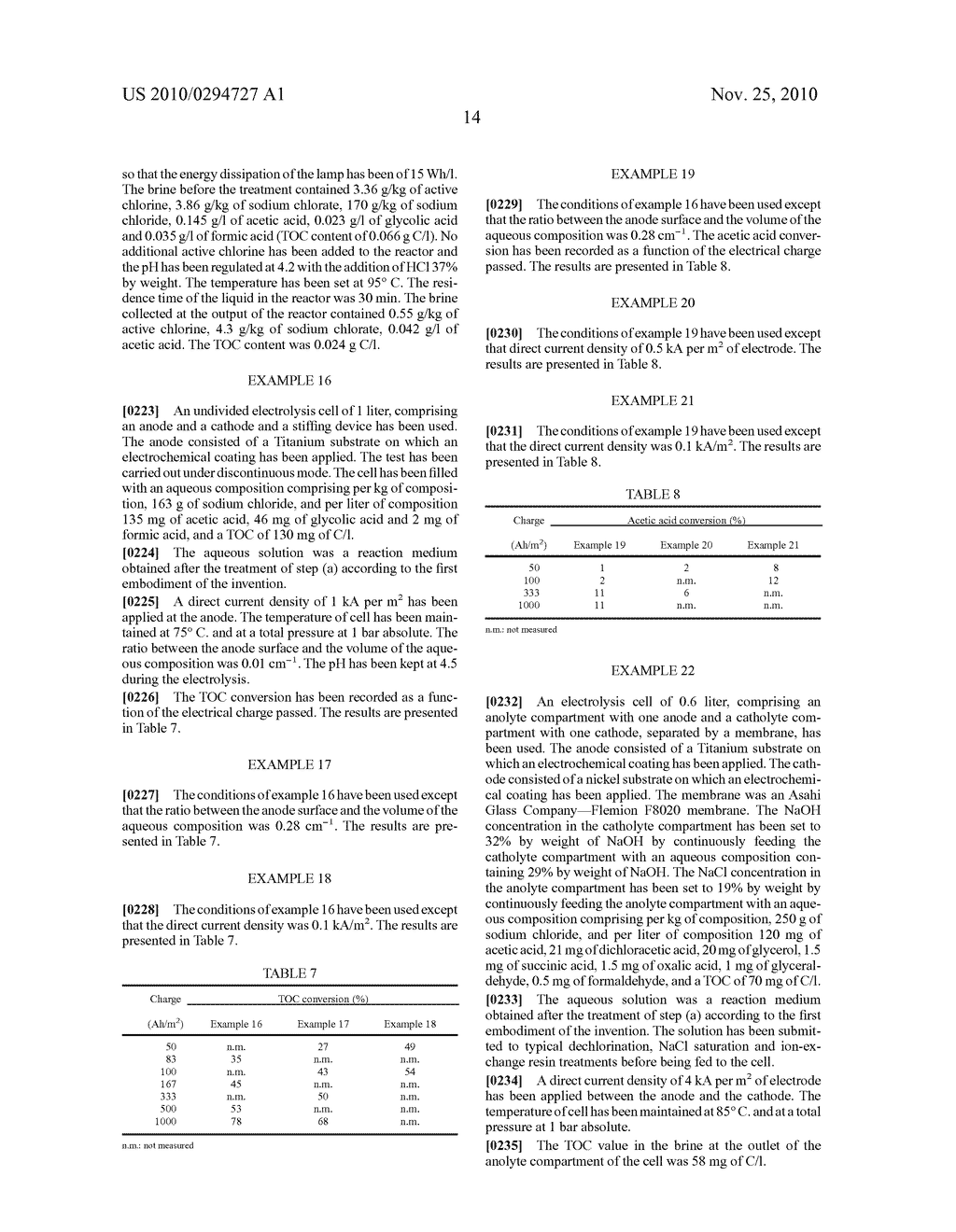 Process for degrading organic substances in an aqueous composition - diagram, schematic, and image 15