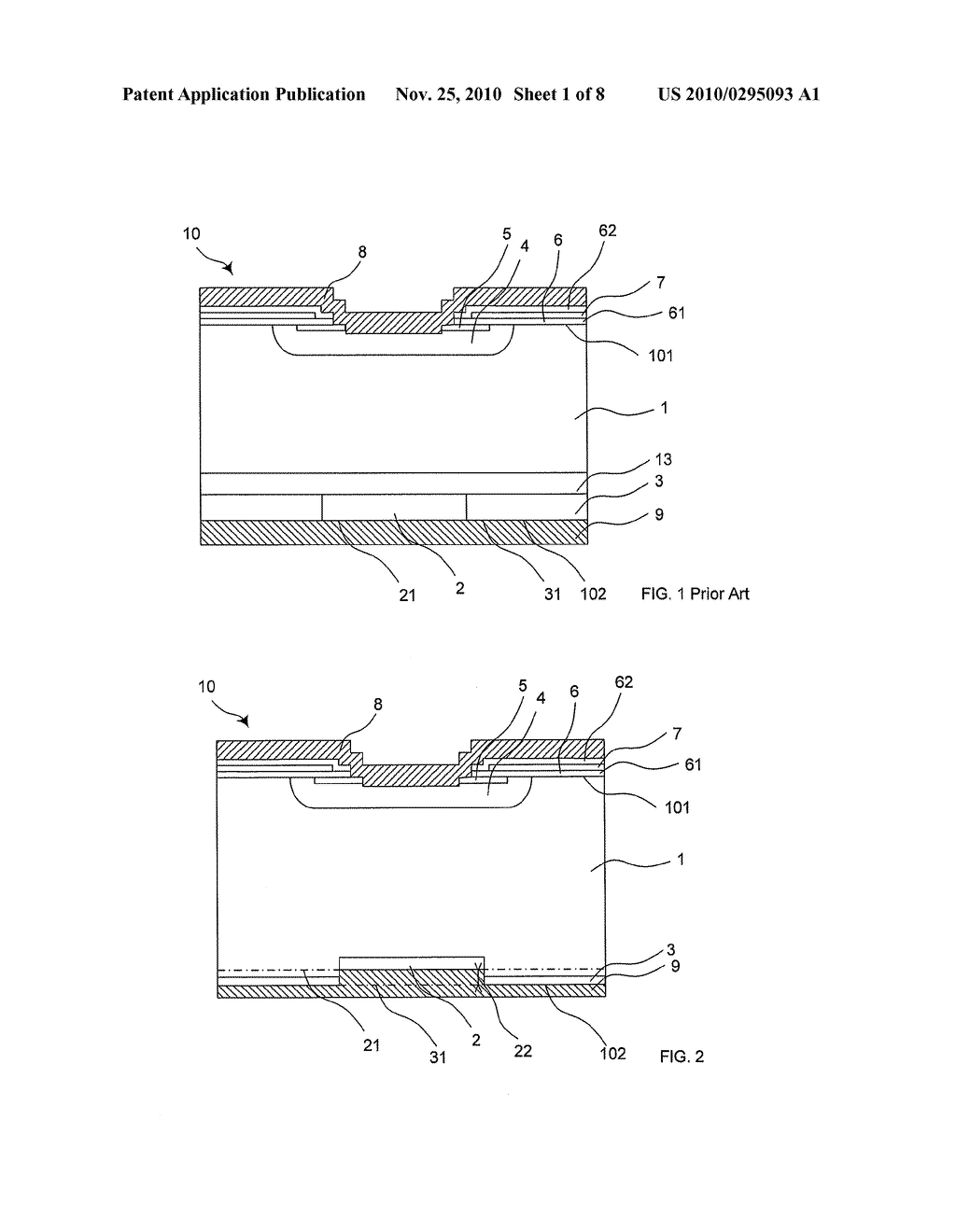 REVERSE-CONDUCTING SEMICONDUCTOR DEVICE AND METHOD FOR MANUFACTURING SUCH A REVERSE-CONDUCTING SEMICONDUCTOR DEVICE - diagram, schematic, and image 02