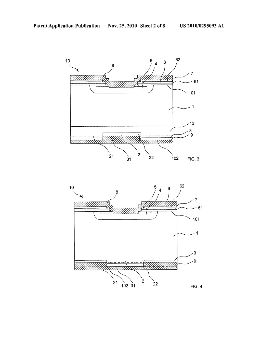 REVERSE-CONDUCTING SEMICONDUCTOR DEVICE AND METHOD FOR MANUFACTURING SUCH A REVERSE-CONDUCTING SEMICONDUCTOR DEVICE - diagram, schematic, and image 03