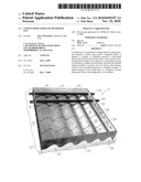 CEMENT ROOF FORM AND METHOD OF USE diagram and image