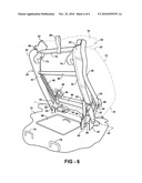 FOLD AND KNEEL SEAT ASSEMBLY WITH STAND UP MECHANISM diagram and image