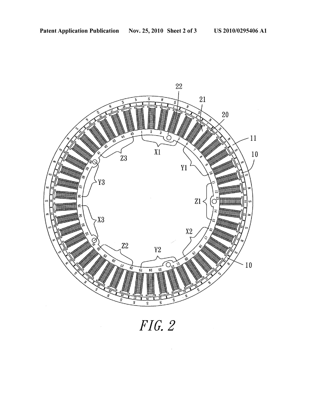 Brushless DC Motor Structure With a Constant Ratio of Magnetic Rotor