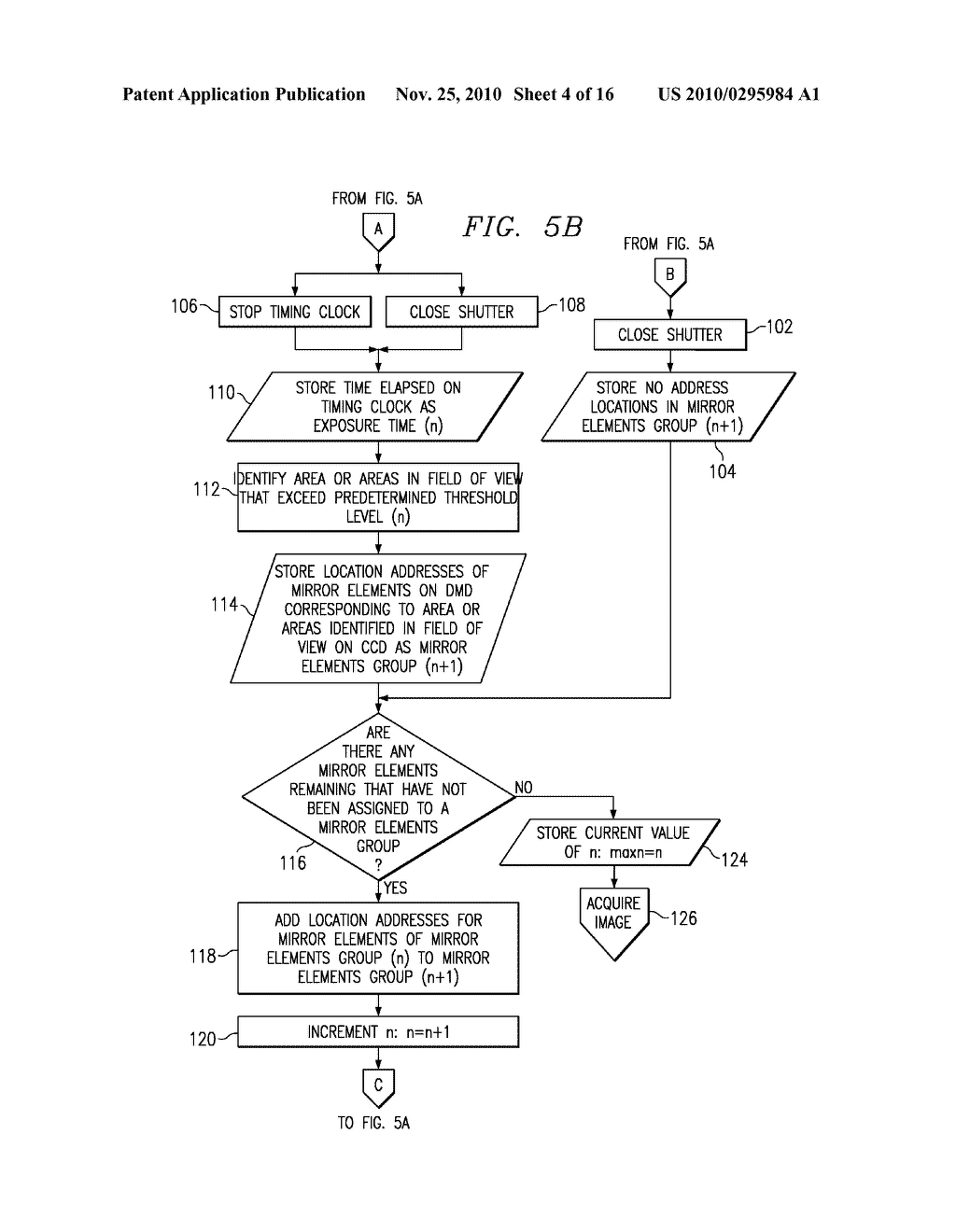System and Method for Varying Exposure Time for Different Parts of a Field of View While Acquiring an Image - diagram, schematic, and image 05