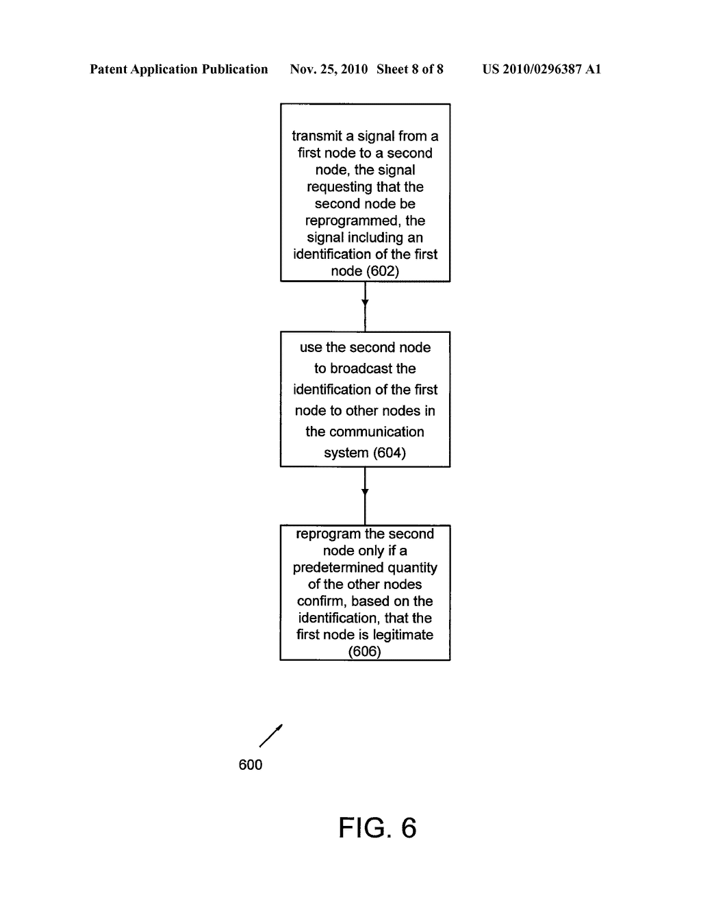SECURITY SYSTEM AND METHOD FOR WIRELESS COMMUNICATION WITHIN A VEHICLE - diagram, schematic, and image 09