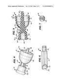 DISPENSING PEN INCORPORATING A DOME SPRING ELEMENT diagram and image