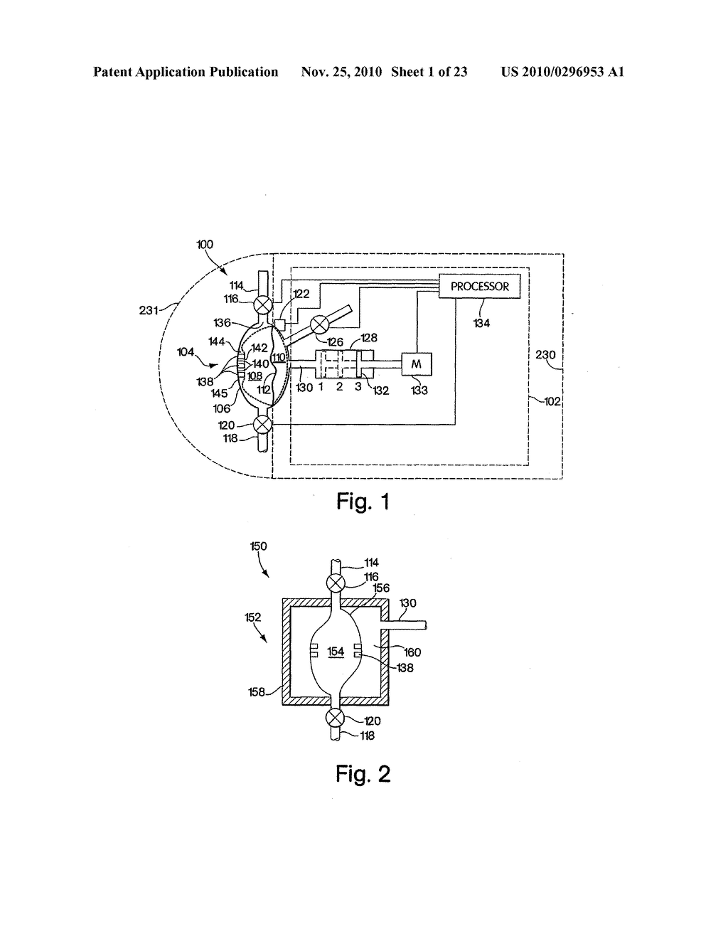 PUMP CHAMBER CONFIGURED TO CONTAIN A RESIDUAL FLUID VOLUME FOR INHIBITING THE PUMPING OF A GAS - diagram, schematic, and image 02