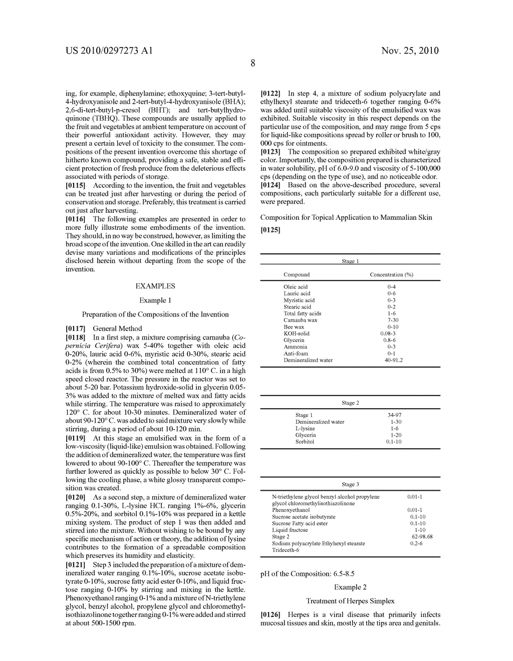 EMULSIFIED WAX COMPOSITIONS AND USES THEREOF - diagram, schematic, and image 11