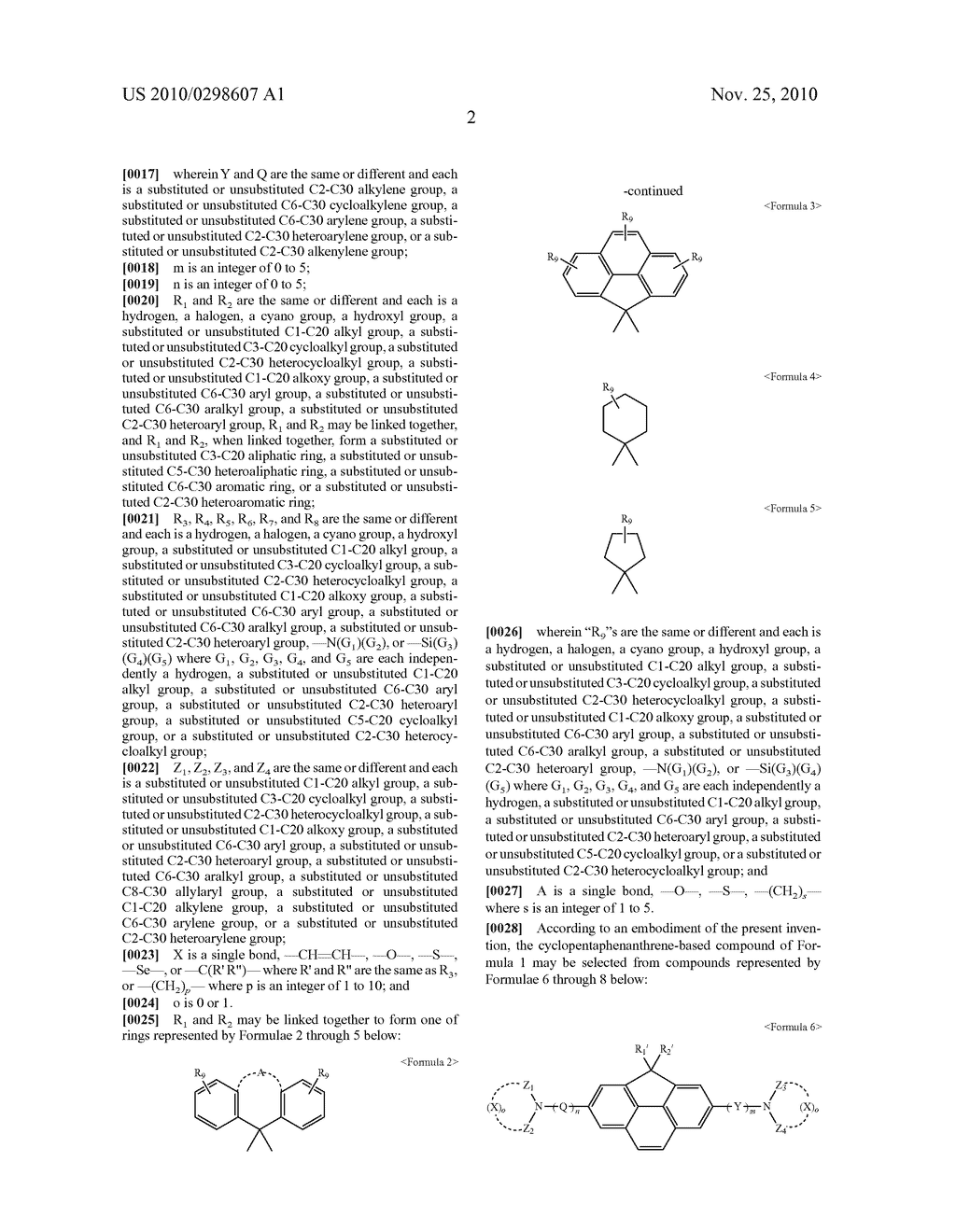 CYCLOPENTAPHENANTHRENE-BASED COMPOUND AND ORGANIC ELECTROLUMINESCENT DEVICE USING THE SAME - diagram, schematic, and image 06