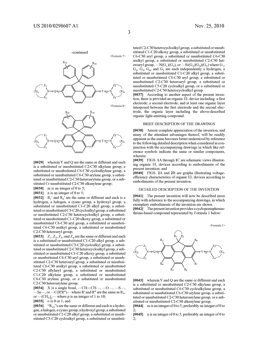 CYCLOPENTAPHENANTHRENE-BASED COMPOUND AND ORGANIC ELECTROLUMINESCENT DEVICE USING THE SAME - diagram, schematic, and image 07