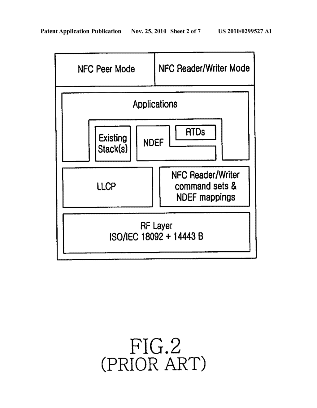 NEAR FIELD COMMUNICATION (NFC) DEVICE AND METHOD FOR SELECTIVELY SECURING RECORDS IN A NEAR FIELD COMMUNICATION DATA EXCHANGE FORMAT (NDEF) MESSAGE - diagram, schematic, and image 03