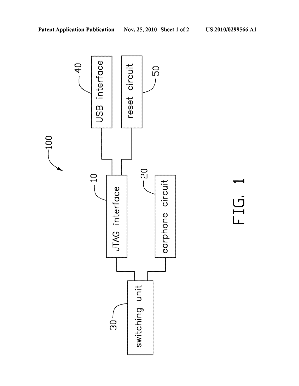 DEBUGGING MODULE FOR ELECTRONIC DEVICE AND METHOD THEREOF - diagram, schematic, and image 02