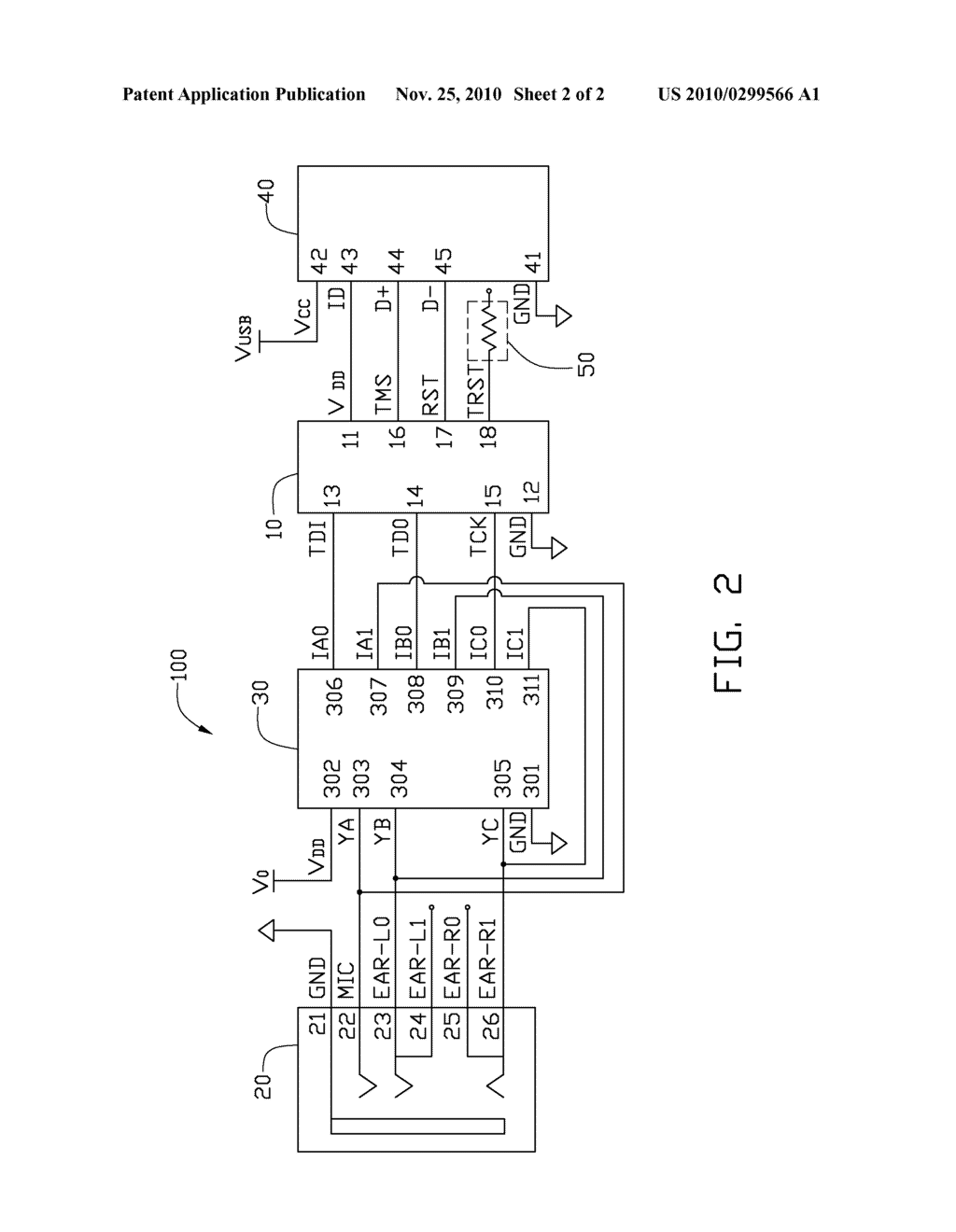DEBUGGING MODULE FOR ELECTRONIC DEVICE AND METHOD THEREOF - diagram, schematic, and image 03