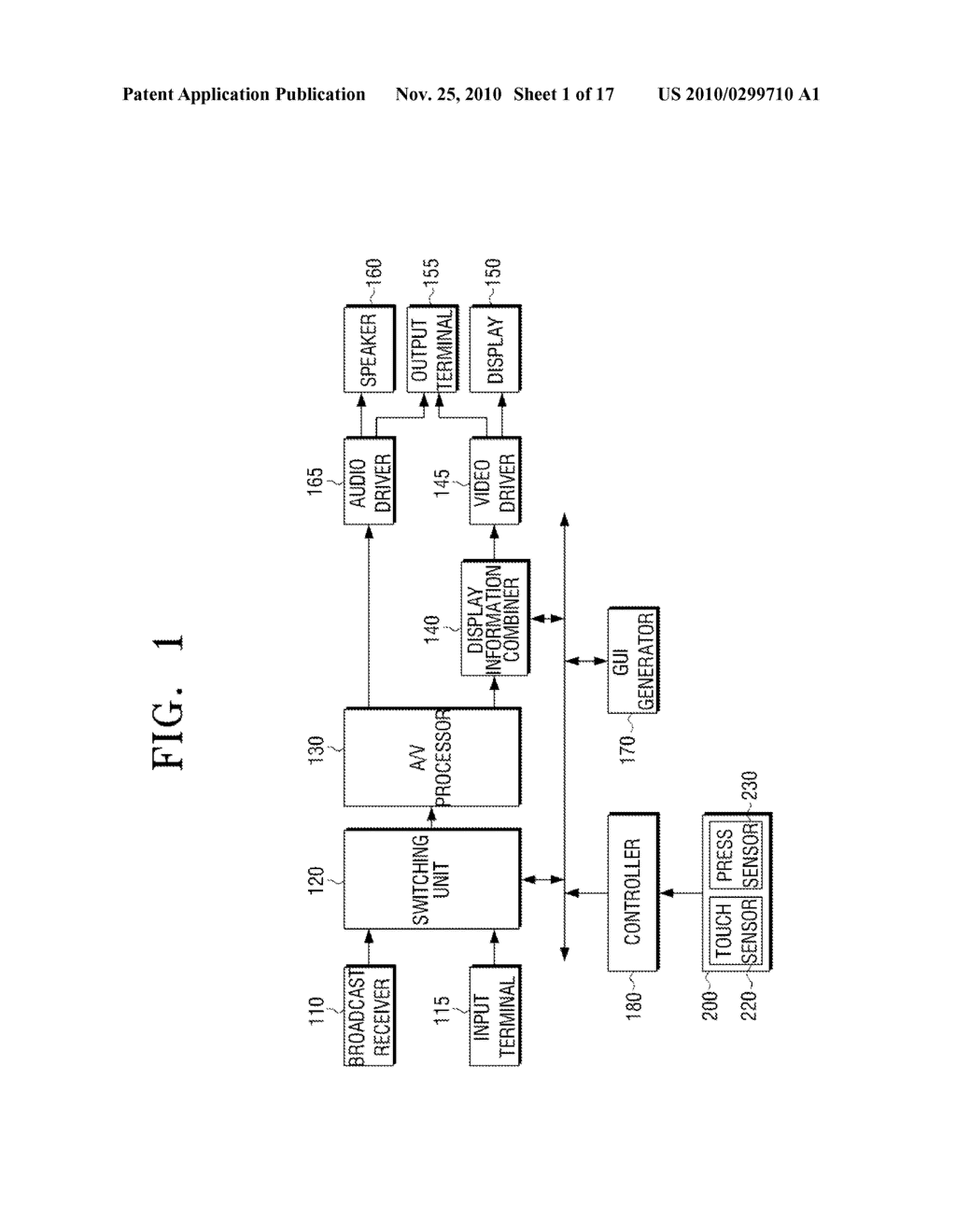 METHOD FOR INPUTTING USER COMMAND AND VIDEO APPARATUS AND INPUT APPARATUS EMPLOYING THE SAME - diagram, schematic, and image 02