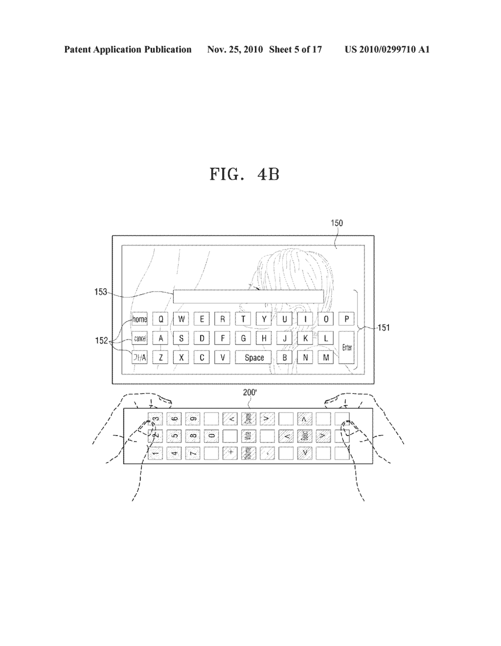 METHOD FOR INPUTTING USER COMMAND AND VIDEO APPARATUS AND INPUT APPARATUS EMPLOYING THE SAME - diagram, schematic, and image 06