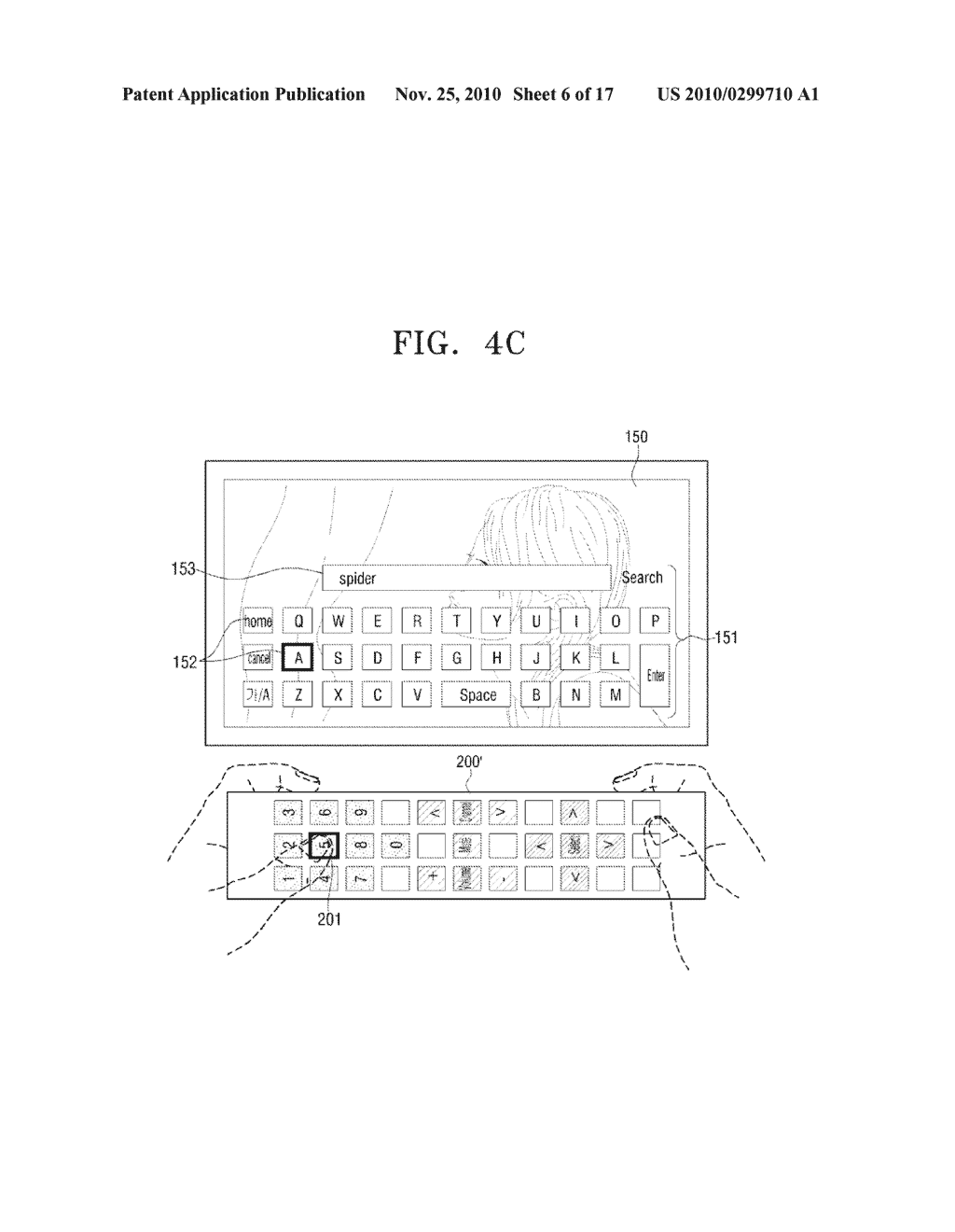 METHOD FOR INPUTTING USER COMMAND AND VIDEO APPARATUS AND INPUT APPARATUS EMPLOYING THE SAME - diagram, schematic, and image 07