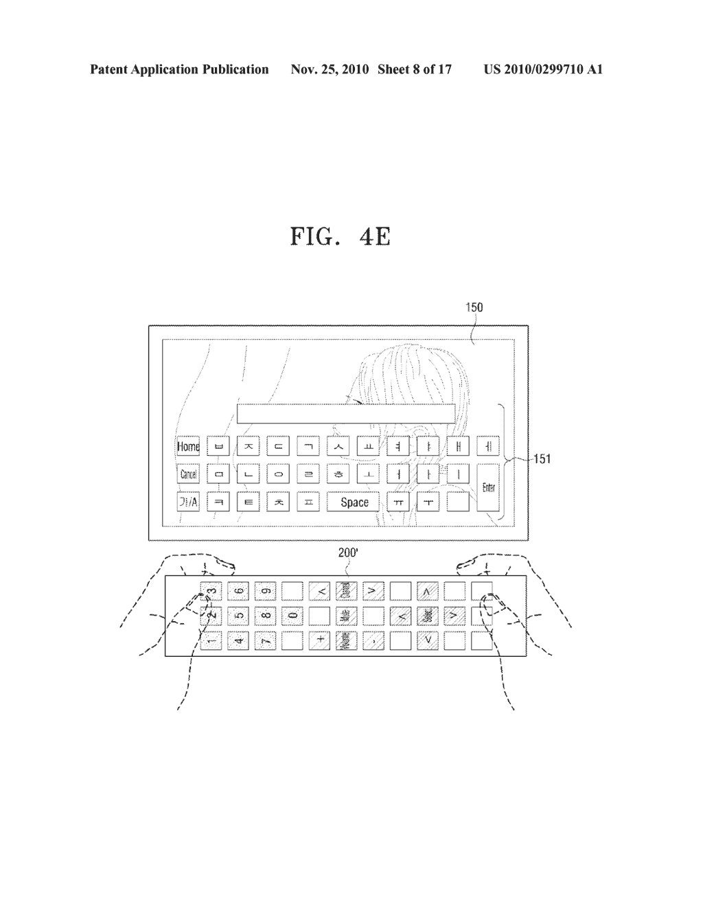 METHOD FOR INPUTTING USER COMMAND AND VIDEO APPARATUS AND INPUT APPARATUS EMPLOYING THE SAME - diagram, schematic, and image 09