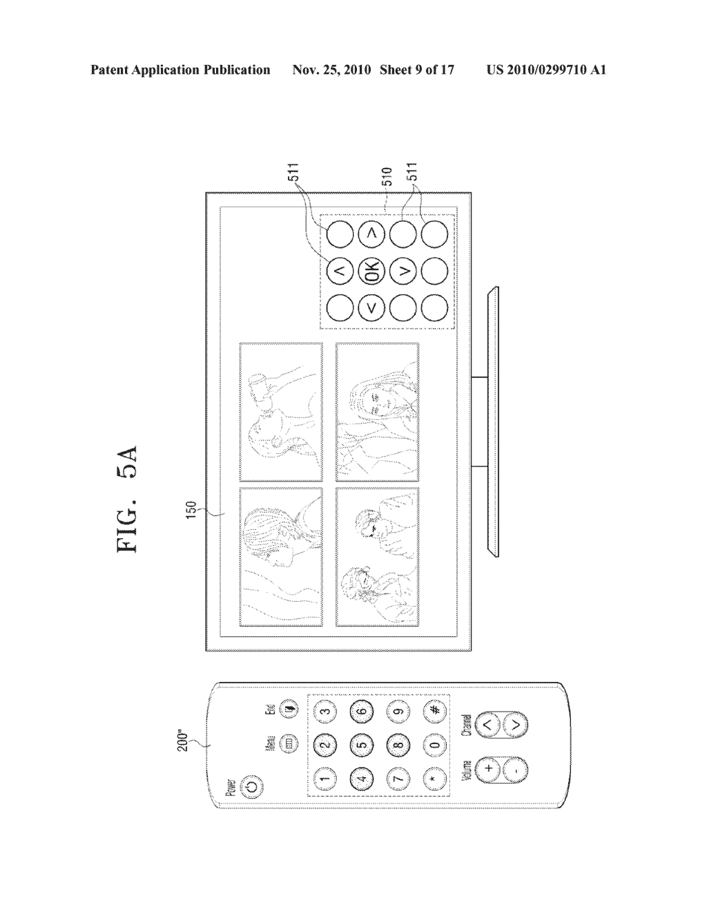 METHOD FOR INPUTTING USER COMMAND AND VIDEO APPARATUS AND INPUT APPARATUS EMPLOYING THE SAME - diagram, schematic, and image 10