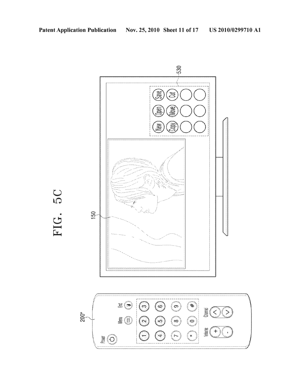 METHOD FOR INPUTTING USER COMMAND AND VIDEO APPARATUS AND INPUT APPARATUS EMPLOYING THE SAME - diagram, schematic, and image 12