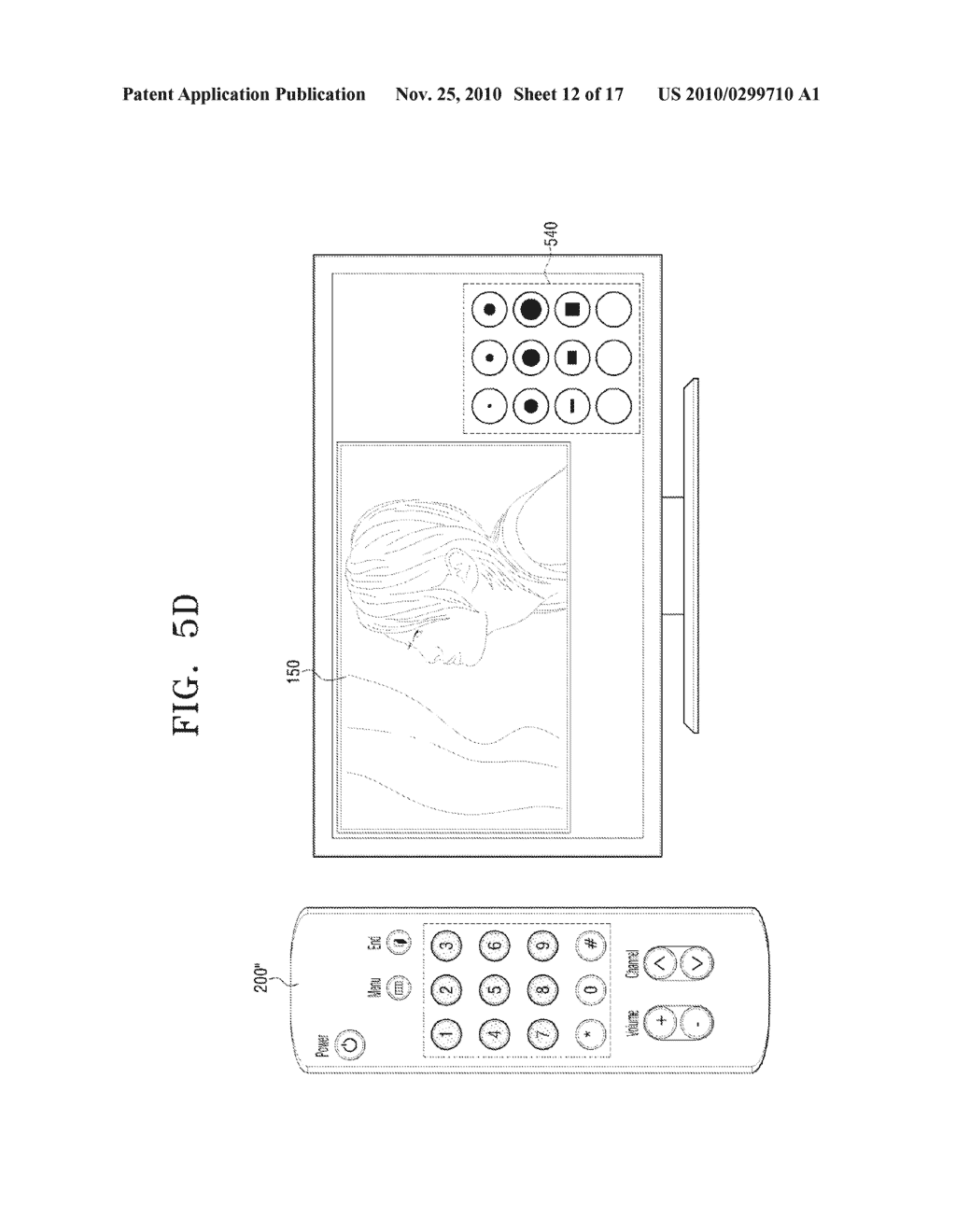 METHOD FOR INPUTTING USER COMMAND AND VIDEO APPARATUS AND INPUT APPARATUS EMPLOYING THE SAME - diagram, schematic, and image 13