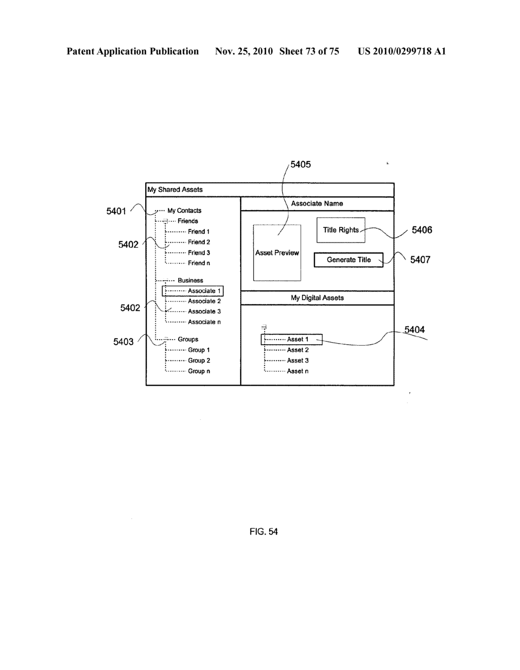 METHODS AND APPARATUS FOR TITLE PROTOCOL, AUTHENTICATION, AND SHARING - diagram, schematic, and image 74