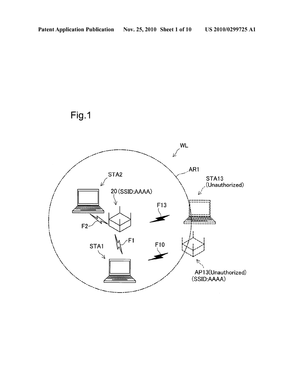 WIRELESS LAN ACCESS POINT DEVICE AND UNAUTHORIZED MANAGEMENT FRAME DETECTION METHOD - diagram, schematic, and image 02