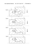 MECHANICAL LOCKING OF FLOOR PANELS WITH A FLEXIBLE BRISTLE TONGUE diagram and image