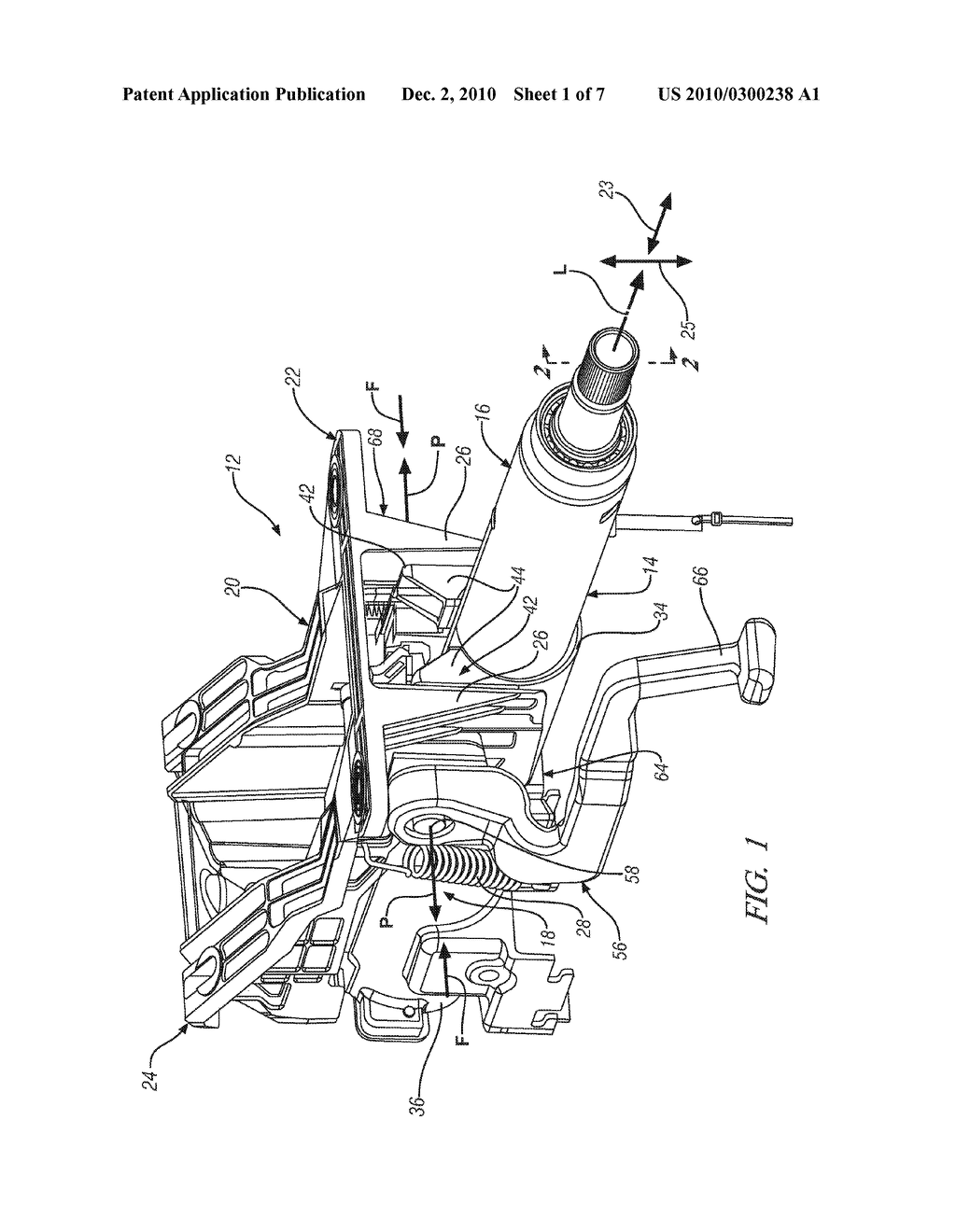 Energy Absorbing Device For A Collapsible Steering Column Assembly